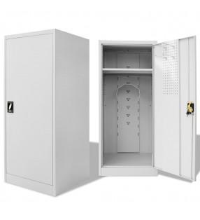 vidaXL Aparador con 3 estantes de madera maciza reciclada