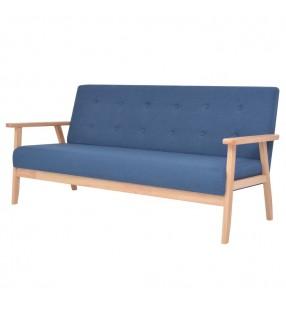 vidaXL Mesa alta de bar de madera maciza reciclada 115x60x107 cm