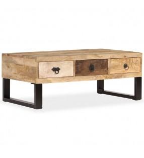 vidaXL Tablero de mesa de cristal templado redondo 900 mm