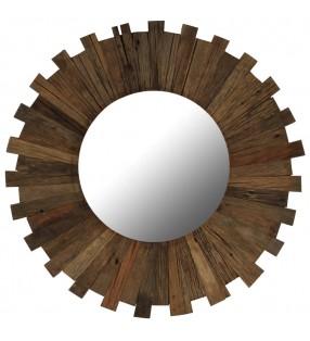 vidaX Estantería de 3 niveles de madera maciza de roble 70x22,5x82 cm