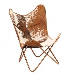 vidaXL Cesto de ropa hierro galvanizado y madera reciclada 30x30x58 cm