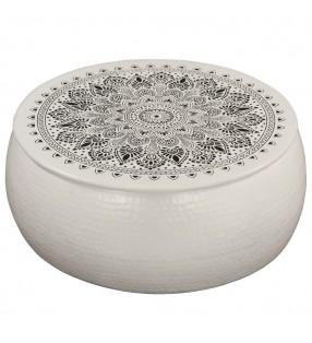 vidaXL Tablero de  mesa de cristal templado redondo 300 mm