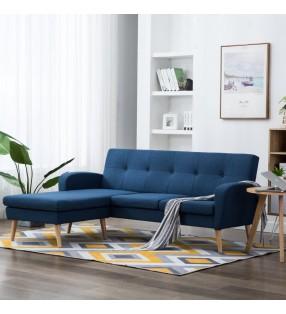 vidaXL Mesa de centro de madera aglomerada 100x59x42 cm blanca