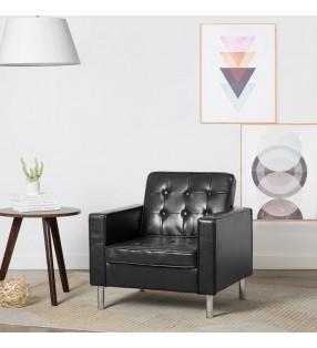 vidaXL Mueble para la televisión aglomerado blanco brillante y roble