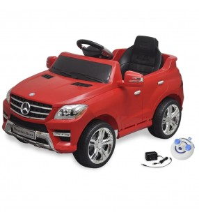 Coche de juguete blanco con música, modelo Land Rover 348