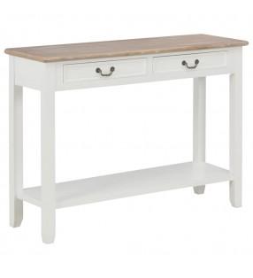 vidaXL Superficie de mesa redonda madera maciza de roble 44 mm 900 mm
