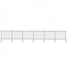 vidaXL Perchero de ropa de madera de roble maciza 125x150 cm