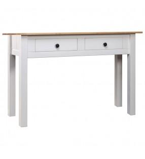 vidaXL Protector salpicaduras cocina vidrio templado blanco 120x60 cm