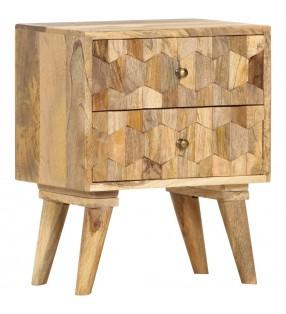 vidaXL Sillas de comedor 4 unidades cuero auténtico negro