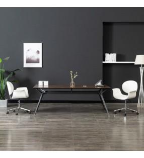 vidaXL Juego de comedor de jardín 7 piezas plástico verde