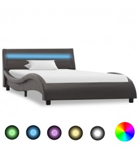 vidaXL Conjunto de sofá modular 16 piezas tela de rayas