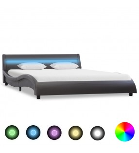 vidaXL Conjunto de sofá modular 6 piezas tela de rayas
