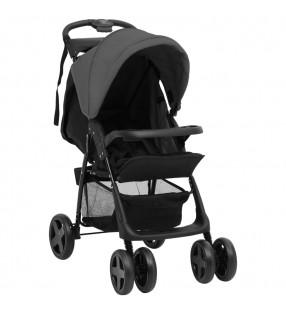vidaXL Silla de peluquería de cuero sintético rojo 68x69x116 cm