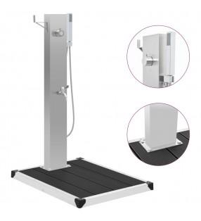 vidaXL Lámparas de jardín para camino 4 uds con pica de tierra 30 cm