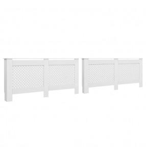 vidaXL Lámparas solares LED de exterior 6 uds. cúbicas 20 cm blanco