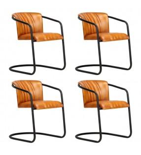 vidaXL Lámparas solares LED de exterior 4 uds. cúbicas 20 cm blanco