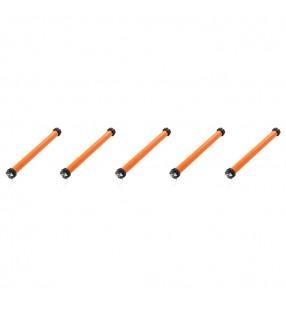 vidaXL Conjunto de prensa y trituradora de frutas y vinos 2 piezas