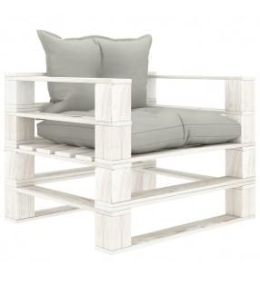 vidaXL Cama con colchón viscoelástico cuero sintético 90x200 cm