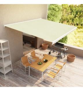 vidaXL Cama con colchón viscoelástico tela verde 160x200 cm