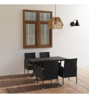 vidaXL Sillas de comedor 6 unidades terciopelo amarillo
