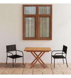 vidaXL Sillas de comedor 6 unidades tela marrón