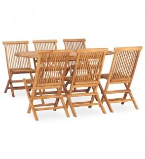 vidaXL Set mesa alta y taburetes de bar 3 piezas cuero sintético verde