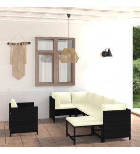 vidaXL Foco de 6 luces plateado GU10
