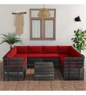 vidaXL Lámpara focos 6 bombillas de filamento 2W negro cobre E27 30 cm