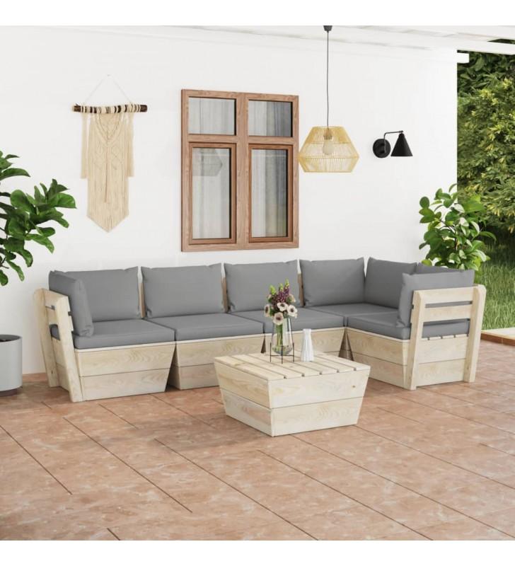 vidaXL Librería de madera maciza pino estilo Panamá blanco 80x35x110 cm