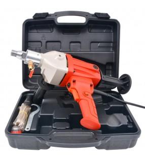vidaXL Cinturón de cuero marrón de hombre para traje 125 cm