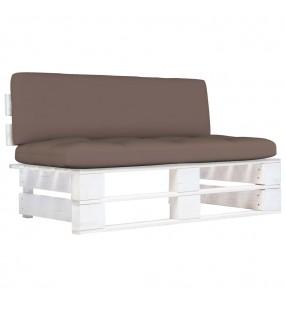 vidaXL Leñero de acero negro 50x20x150 cm