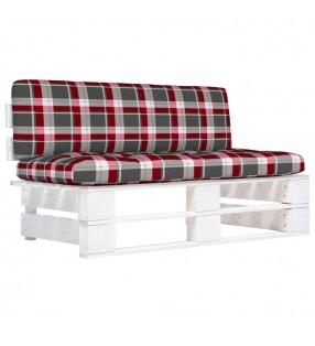 vidaXL Leñero con base acero negro 37x37x113 cm