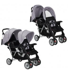 vidaXL Barandilla de seguridad cama de niño verde 150x42 cm
