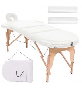 Mini falda con cinturón, Talla 36, Blanco