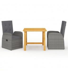 vidaXL Leñero de acero negro 40x25x200 cm