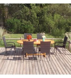 vidaXL Tapas para vasos desechables de café 1000 uds plástico 80 mm