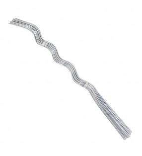 vidaXL Manteles individuales 4 unidades algodón azul y blanco 30x45 cm