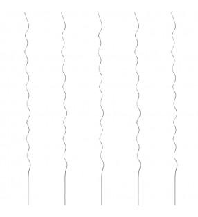 vidaXL Manteles individuales 6 unidades algodón azul y blanco 30x45 cm