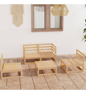 vidaXL Mesa de camping plegable ajustable con 6 taburetes 180x60 cm