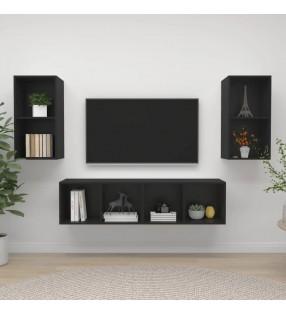 vidaXL Arenero de jardín para niños cuadrado de madera