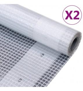 vidaXL Cobertizo doble contenedor de basura madera impregnada 240 L