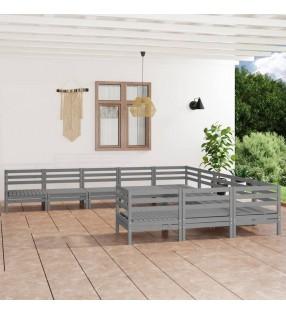 Nature Termómetro de pared de exterior aluminio 7x1x23 cm