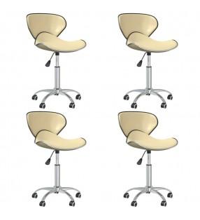 FMD Armario archivador giratorio abierto blanco 34x34x108 cm