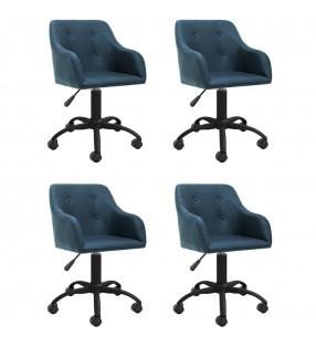 vidaXL Set de muebles plegables de camping 5 piezas verde 45x45x70 cm