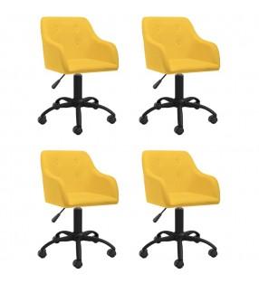 vidaXL Set de muebles plegables de camping 5 piezas azul 45x45x70 cm