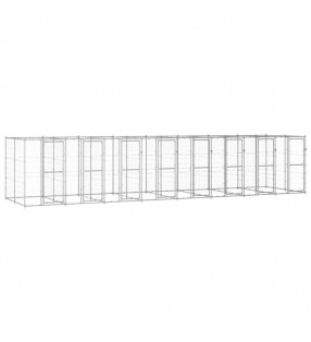 vidaXL Cobertizo contenedor de basura poli ratán negro 76x78x120 cm