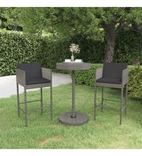 vidaXL Sillas de camping plegables 4 unidades aluminio crema