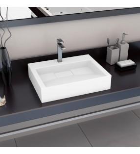 vidaXL Plato de ducha rectangular ABS 80x100 cm