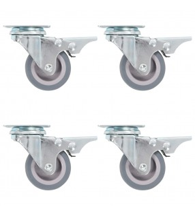 vidaXL Postes de valla 2 unidades 200 cm