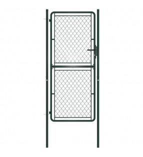 vidaXL Valla enrejada de sauce 5 piezas 180x90 cm